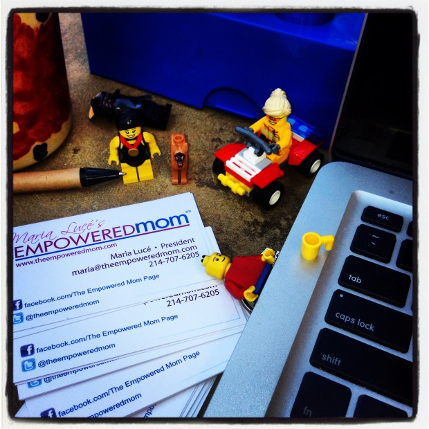 The Empowered Mom uses Legos as the Building Blocks to success! Here's how you can too!