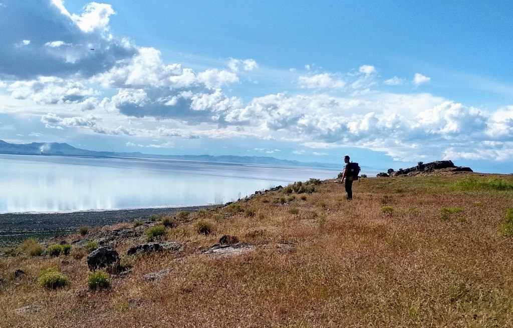 Hiking and Backpacking on Stansbury Island