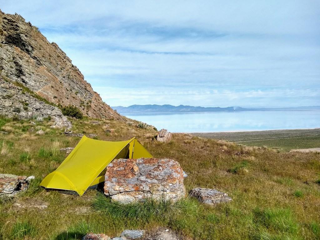 Campsite on Stansbury Island