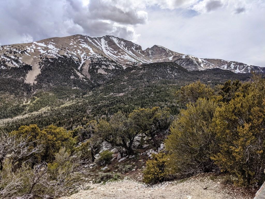 Wheeler Peak from Mather Overlook