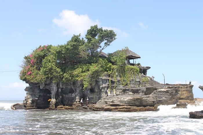 Tanah Lot Hindu Temple Bali Indonesia