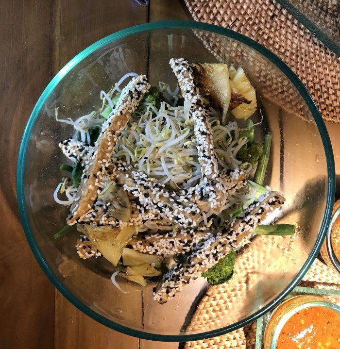 vegan food Ubud Sage restuarant
