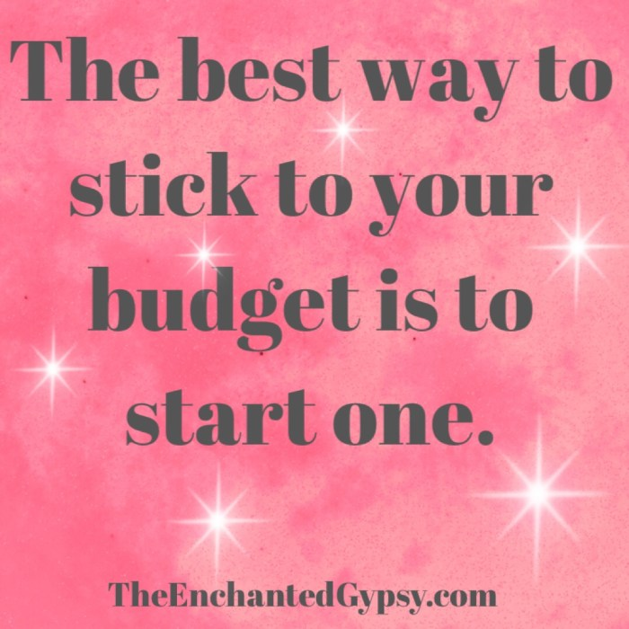 How To Create A Budget That Works TheEnchantedGypsy.com
