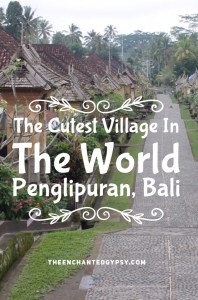 The Most Charming Village In Bali, Penglipuran www.TheEnchantedGypsy.com