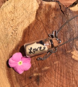 protection charm bottle pendants necklace www.theenchantedgypsy.com
