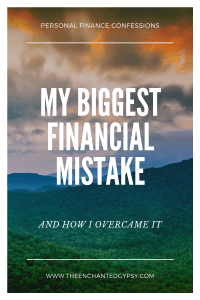 My Biggest Financial Mistake And How I Overcame It