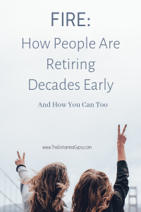 financial independence retire early FIRE movement
