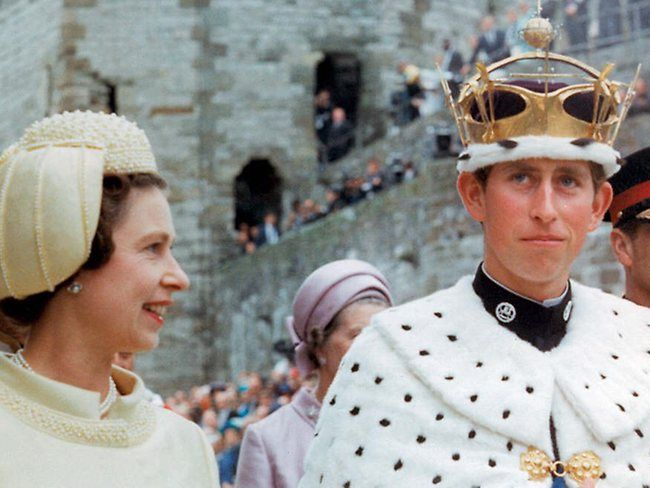 Image result for prince charles becomes prince of wales images