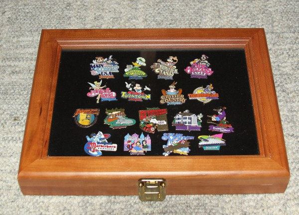 Pin Collection Display Case