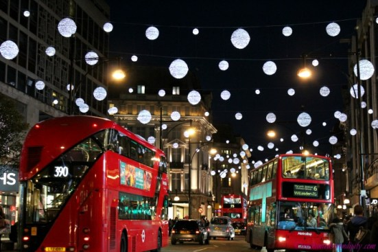 London at Christmas: Oxford Street