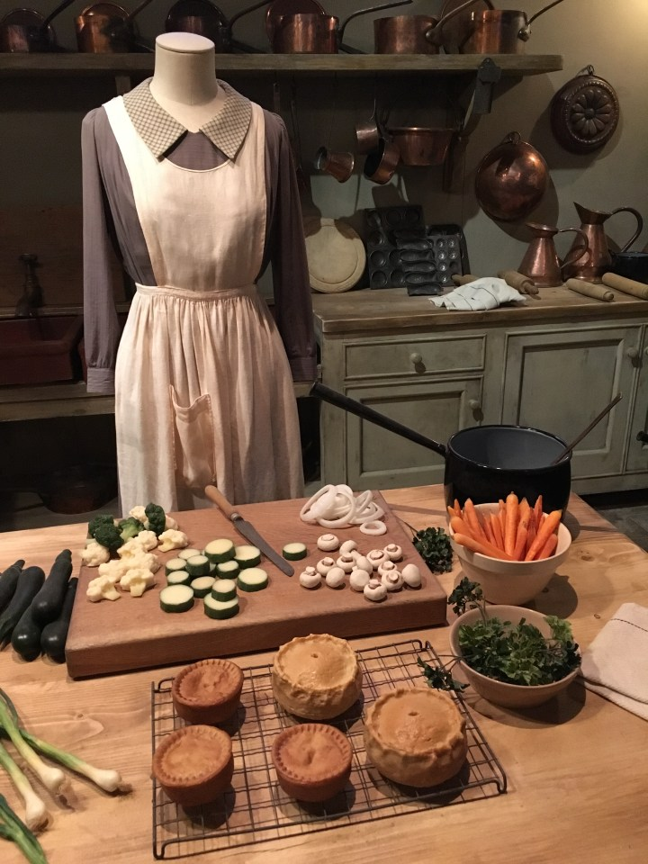 Downton Abbey The Exhibition Kitchen Set