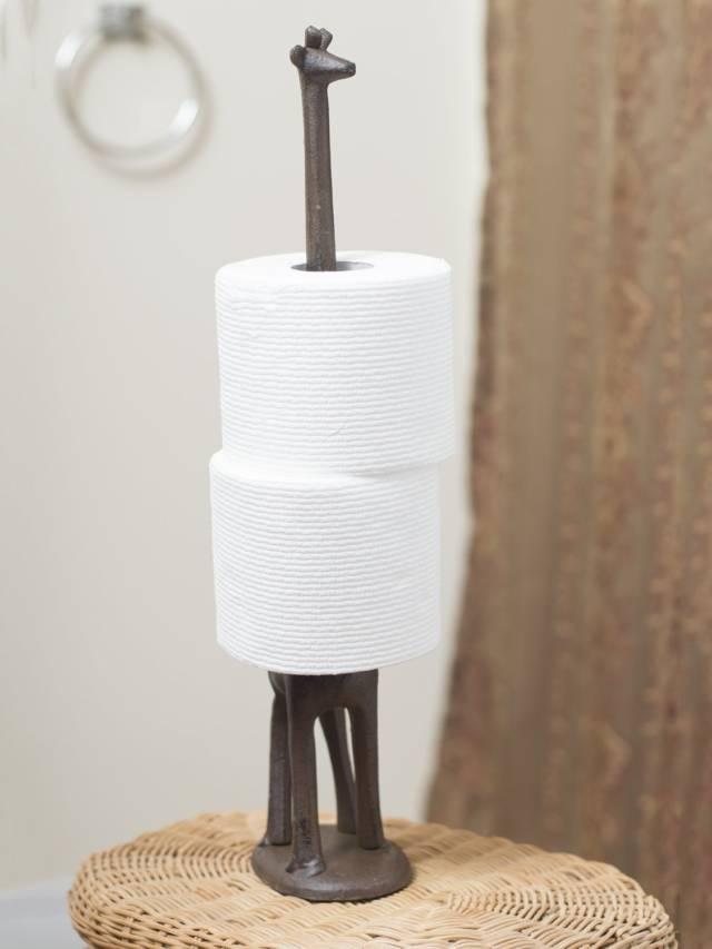 10 UNIQUE Toilet Paper Holder Designs That Your Bathroom