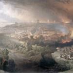 Destruction of Jerusalem by Ercole de' Roberti