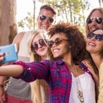 stock-footage-hipster-group-is-taking-selfies
