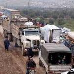 idlib traffic jam