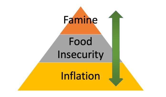 levels of food crisis