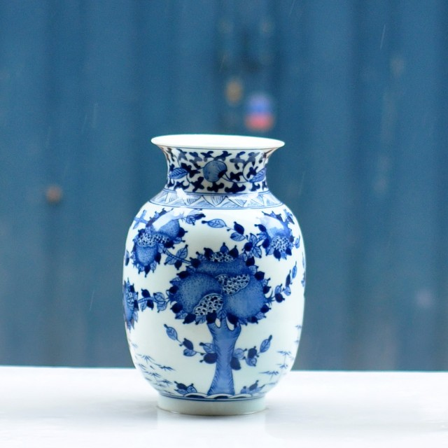 Blue And White Vases Cheap