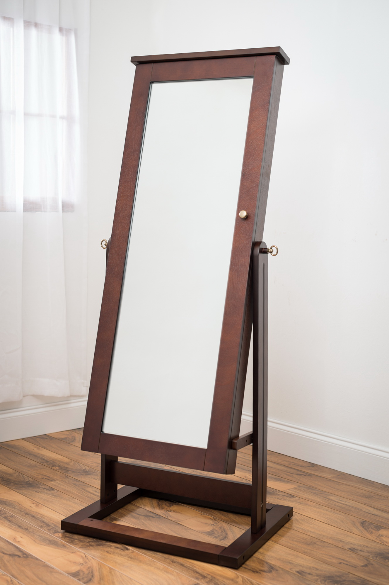 Cheval Jewelry Armoire Mirror