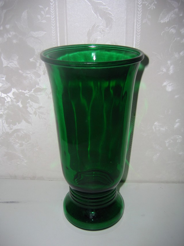 Colored Glass Vases For Sale