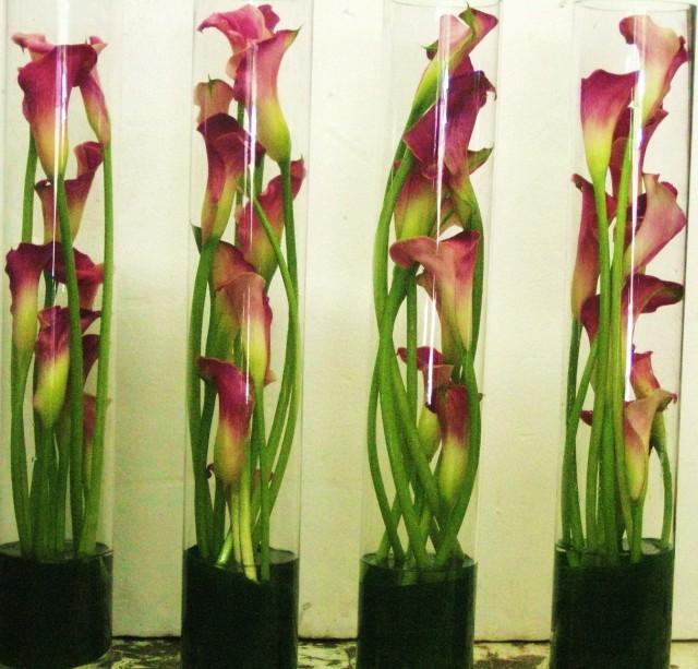 Cylinder Glass Vases For Sale