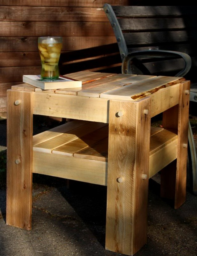 Patio Side Table Plans