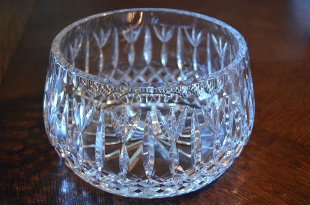 Round Clear Glass Vases