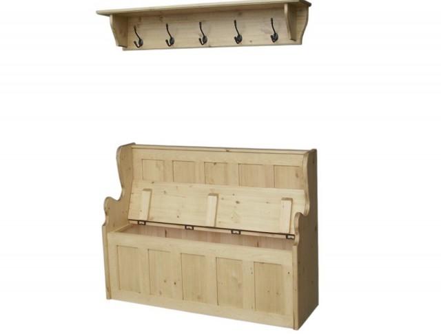 Coat Rack Bench Seat