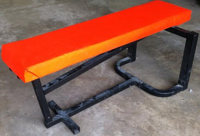 Homemade Adjustable Weight Bench