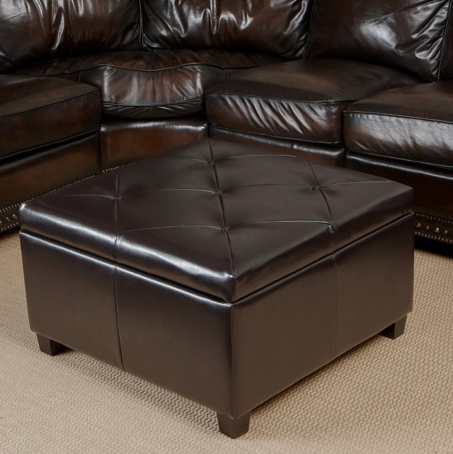 Large Square Ottoman With Storage