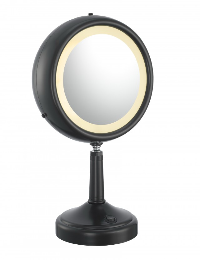 Magnifying Mirror With Light Target