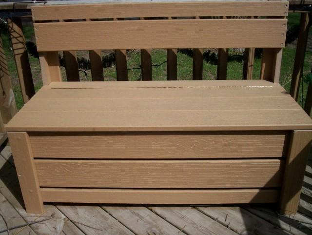 Outdoor Storage Bench Seat Plans