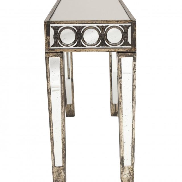Small Mirror Console Table