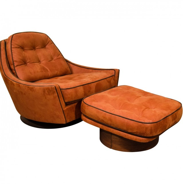 Swivel Chairs With Ottomans