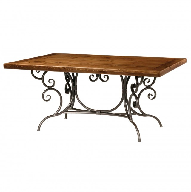 Wrought Iron Console Table Base Only