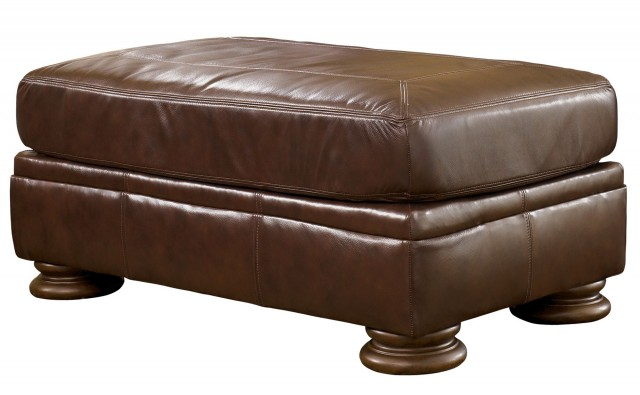 Ashley Furniture Ottoman Brown Leather