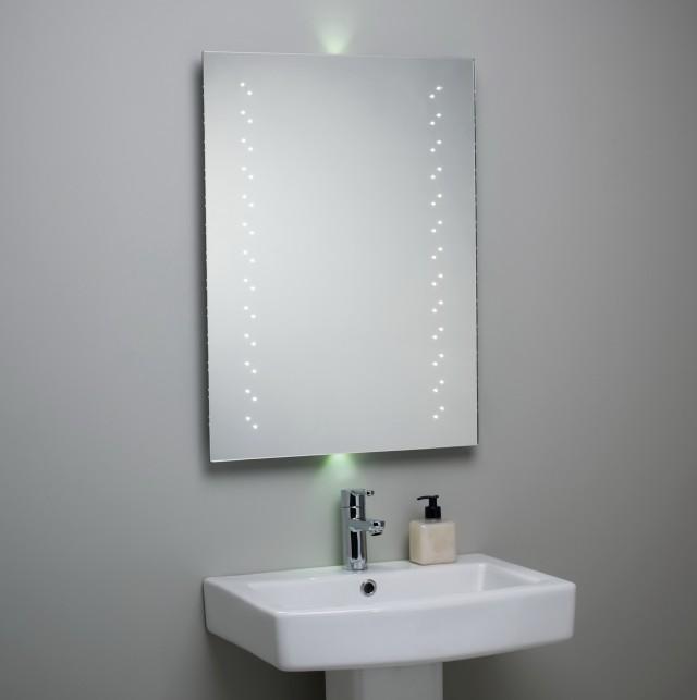 Bathroom Mirror With Lights Behind