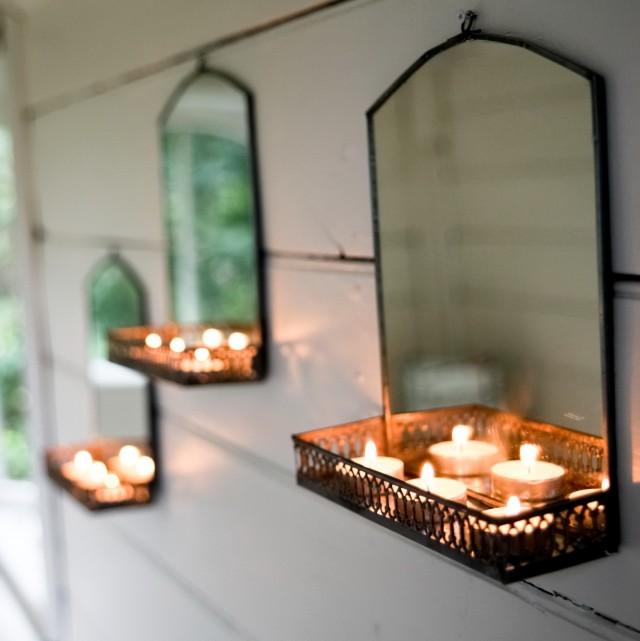 Bathroom Mirror With Shelf Vintage