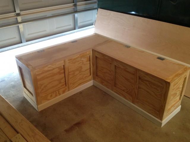 Corner Bench With Storage Plans