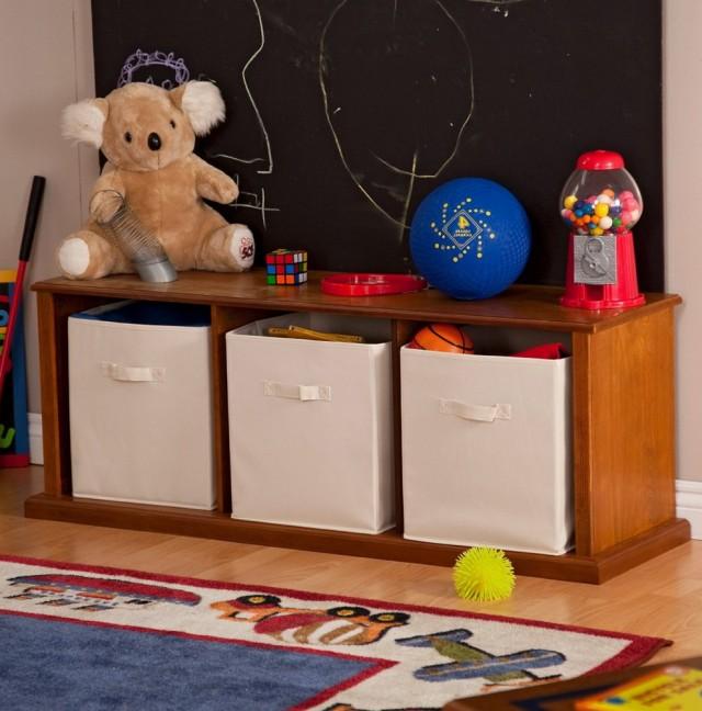 Diy Kids Storage Bench