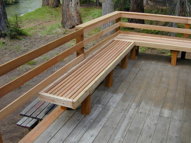 Front Porch Bench Ideas