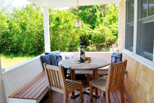 Front Porch Bench Seating