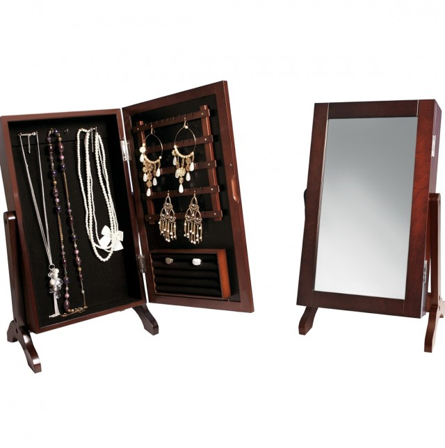Full Length Mirror Jewelry Armoire Kirklands
