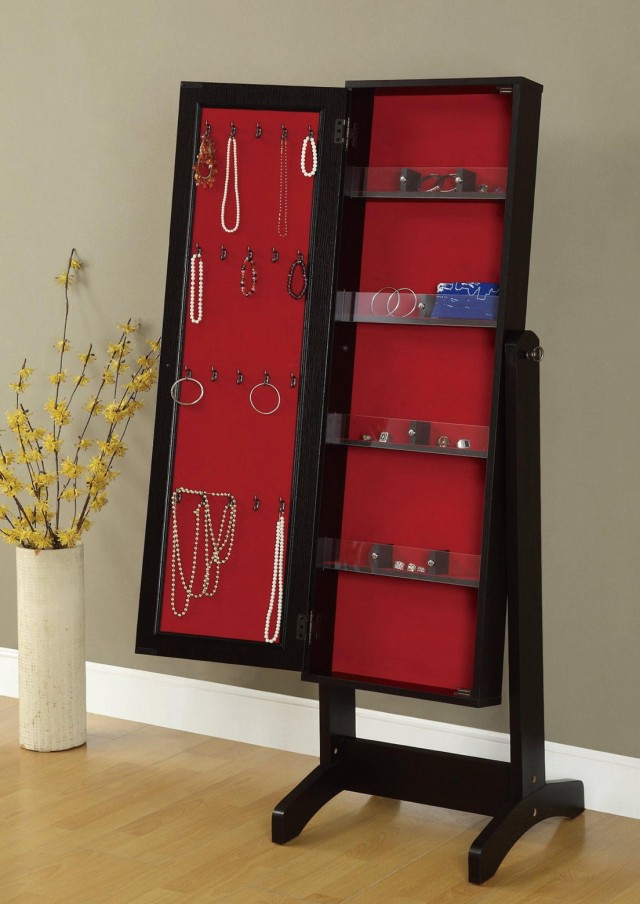 Full Length Mirror With Jewelry Storage Inside Qvc