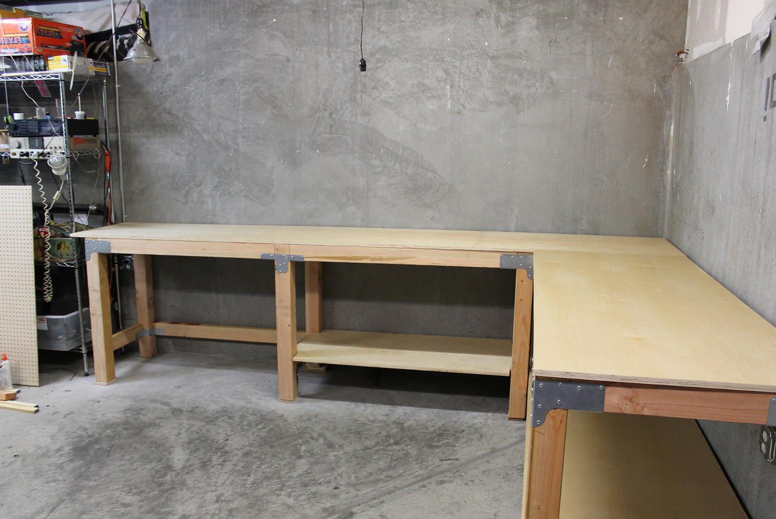 Garage Work Bench Plans