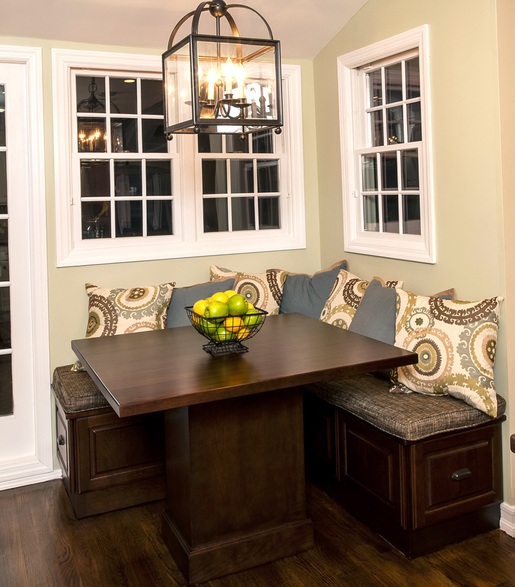 Kitchen Nook Bench Seating Plans