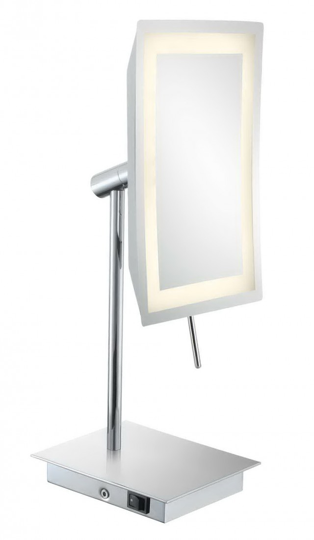 Magnifying Makeup Mirror On Stand