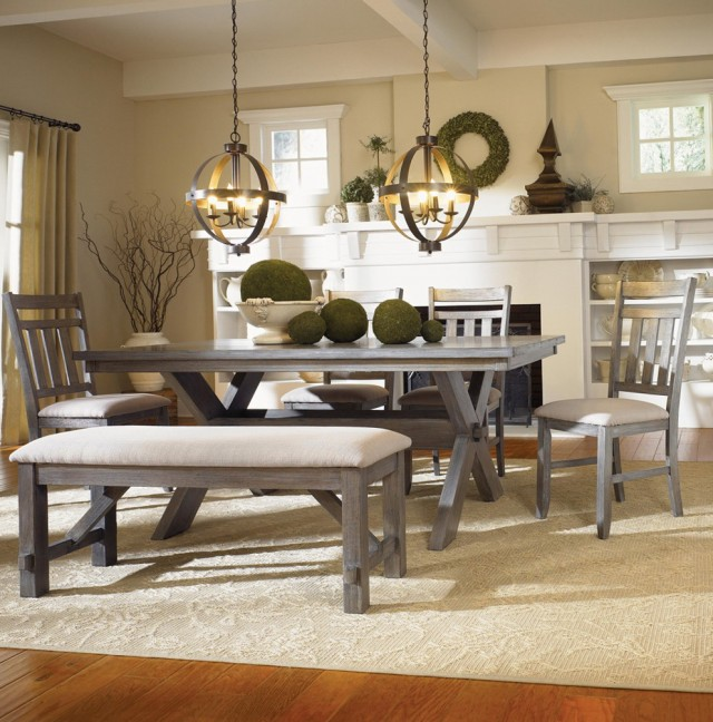Modern Dining Room Sets With Benches