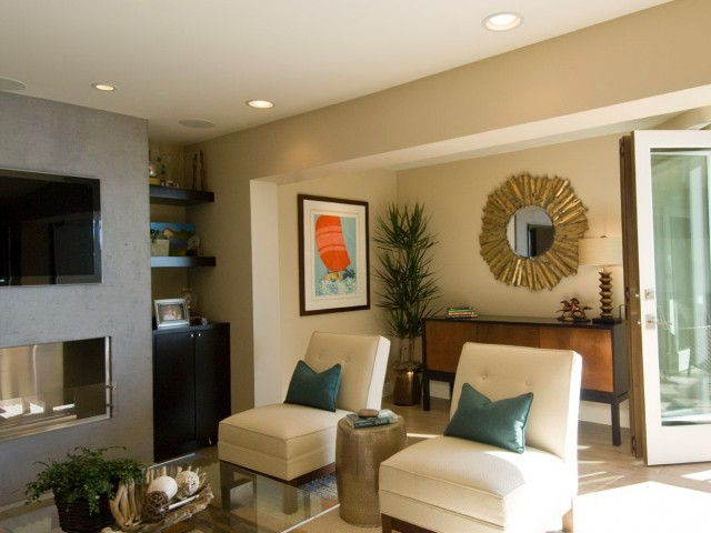 Modern Living Room Mirrors