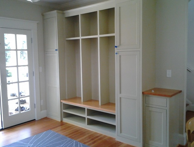 Mudroom Bench Height