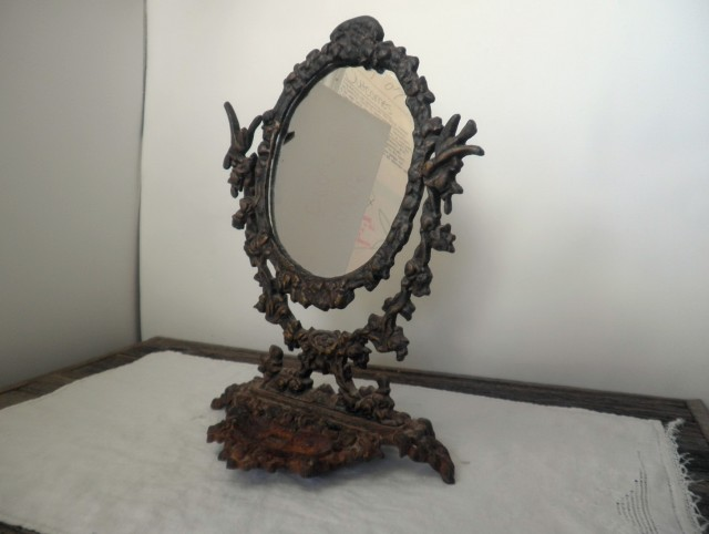 Rustic Wrought Iron Mirrors